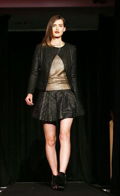 Black Studs   Penney's   Dublin Fashion Festival 2013