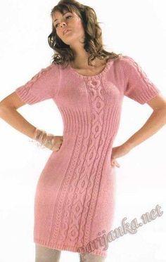 68ea74e2184 Οι 75 καλύτερες εικόνες του πίνακα πλεκτα φορεματα με βελονες ...