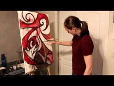 Speed painting: Drowning Dog (video) - Laura A Kranz