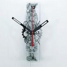 Gear clock. Definitely would like.