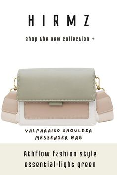 An elevated version of an everyday staple, this valparaiso small crossbody has a soft yet structured shape and a two-tone pastel color block design with a simple magnetic flap style. #summercrossbodypurse #cutecrossbodybags #brownpursecrossbody #smallcrossbodybag #everydaypurse #fashionpurses Cute Crossbody Purses, Brown Crossbody Purse, Small Crossbody Bag, Trendy Purses, Unique Purses, Green Shoulder Bags, Summer Purses, Purse Styles, Block Design