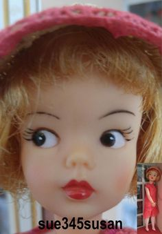 Vintage Tammy Doll Ideal Reliable Canada Dual Citizenship BLk Eyes Only RARE '64 | eBay