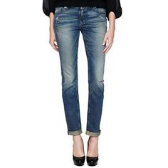 a.n.a® Perfect Skinny Destructed Jeans - jcpenney