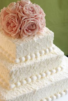 Butter Cream Cake - with a lemon or berry? Photo to represent that a cake can be very simple (not expensive) and still look really nice...