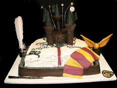 PattiCakes!: Harry Potter Birthday Cake