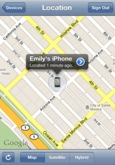 tracking my iphone on my ipad