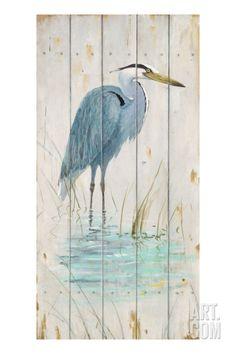 Blue Heron Giclee Print by Arnie Fisk at Art.com