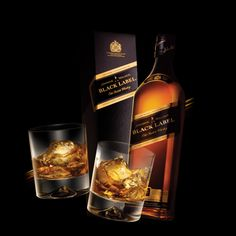 Johnny Walker Black Label - if I'm trapped at the dead end and the future's not looking so bright for me, I'm gonna die drinking scotch and drunk so it's not as terrifying.