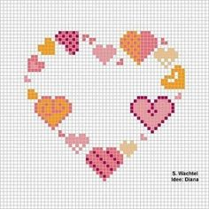 cross stitch by crazy sheep Geek Cross Stitch, Cross Stitch House, Cross Stitch Books, Mini Cross Stitch, Cross Stitch Heart, Cross Stitch Alphabet, Counted Cross Stitch Kits, Cross Stitch Embroidery, Wedding Cross Stitch Patterns