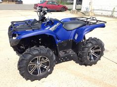 Yamaha Grizzly 700 with Wheels and Tires