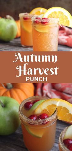 Thanksgiving Drinks Non Alcoholic, Fall Drinks Alcohol, Alcoholic Punch Recipes, Alcohol Drink Recipes, Non Alcoholic Drinks For Wedding, Adult Holiday Drinks, Thanksgiving Alcoholic Drinks, Halloween Drinks For Kids, Halloween Alcoholic Drinks