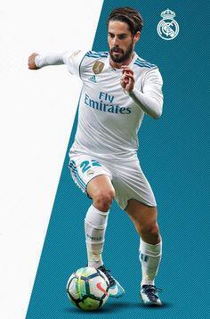 Isco #laliga #realmadrid Football Icon, Real Madrid Football, Best Football Players, World Football, Sport Football, Soccer Players, Isco Real Madrid, Liverpool You'll Never Walk Alone, Soccer Hair