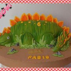 Dinosaurio @tortastematicas