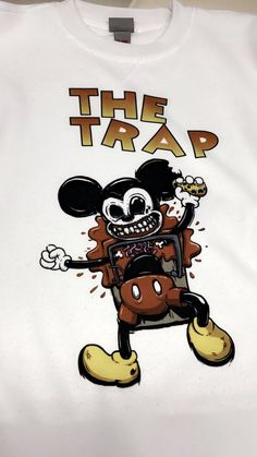 THE TRAP SWEATER MICKEY MOUSE