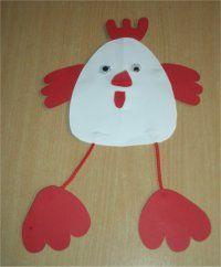 Huhn mit Schlenckerbeinen