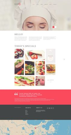 Gourmet Club - WordPress Theme