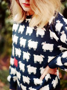 ok I seriously need a sheep sweater