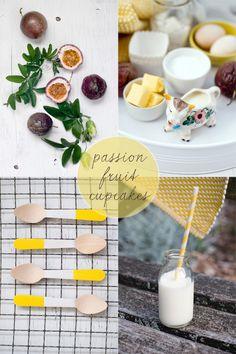 https://flic.kr/p/fujYKh | Delicious Bites: Passion Fruit Cupcakes | recipe on decor8 today!