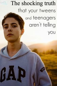 The shocking truth that your tweens & teens aren't telling you… but NEED you to know. via Becky Mansfield @ Your Modern Family … – Preteen Raising Teenagers, Parenting Teenagers, Parenting Advice, Practical Parenting, Parenting Styles, Teen Boys, Tween, Toddler Behavior, Christian Parenting