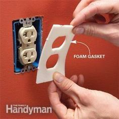 Outlet gaskets; have done this around my house and you would not believe the difference.