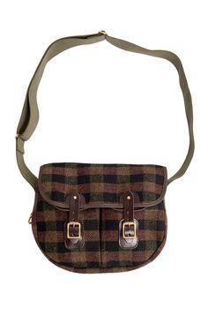 Harris Tweed Satchel - Tweed Bags | Brora