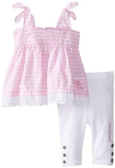 Black Friday Calvin Klein Baby-Girls Infant Top with Leggings, Pink, 18 Months from Calvin Klein Cyber Monday All About Fashion, Outfit Sets, Lace Shorts, Kids Outfits, Kids Fashion, Calvin Klein, Infant, Leggings, Baby Girls
