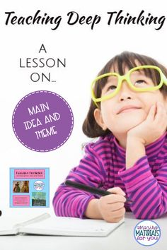 How to Help Your Students Analyze Main Idea and Theme Teaching Main Idea, Teaching Tips, Teaching Reading, Reading Comprehension Strategies, Reading Resources, Deep Thinking, Book Study, Teacher Organization, Upper Elementary