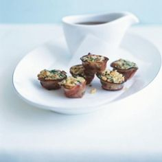 Individual Pancetta Stuffing Recipe low carb, thanksgiving with 9 ingredients