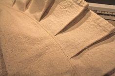 Sure Y Not: Canvas Drop Cloth Tree Skirt Tutorial