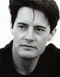 Kyle MacLachlan-Agent Dale Cooper on Twin Peaks was awesome.  I loved the guy.