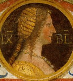 Isabella of Naples Duchess of Milan,wife of Gian Galeazzo, House of Sforza