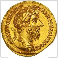 Marcus Aurelius, Aureus, Rome, SPL+, Or, RIC:190 - 3. Les Antonins (96 à 192)