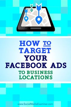 Do you want to get your Facebook posts in front of an audience at a specific physical location?  Using workplace targeting makes it easy to get your content in front of the right people at the right company.  In this article, you'll discover how to use workplace targeting to serve Facebook ads to people who work at specific companies. Via /smexaminer/.