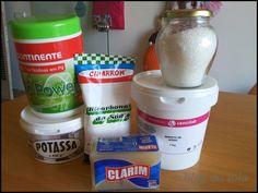 O blog da Iola: Detergente em pó caseiro para máquina de roupa