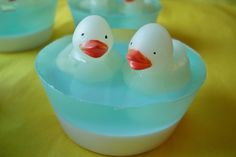 "Children's Soap ""Rubber Ducky Cupcake Soap"" Bath, Home, Decor, Gifts, Parties, Birthday Gifts, Favors, Glycerin Soap, ACOFT, OFG team on Etsy, $4.00"