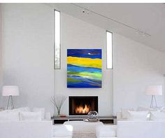 Large Abstract Painting on Canvas, Large Abstract Art, Original Abstract Painting, Canvas Painting, Abstract Landscape Painting, Abstract