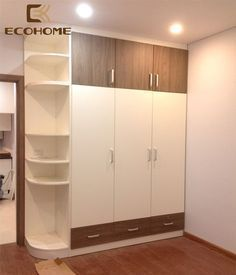 trendy bedroom furniture layout sliding doors furniture layout with tv Wardrobe Laminate Design, Wall Wardrobe Design, Sliding Door Wardrobe Designs, Wardrobe Interior Design, Bedroom Wardrobe, Closet Designs, Bedroom Cupboard Designs, Bedroom Cupboards, Bedroom Closet Design