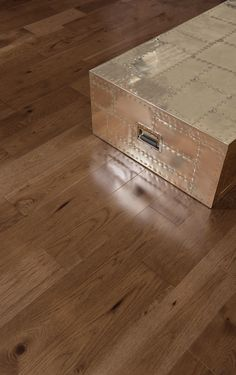 Collection Admiration | Plancher de bois franc fait de hickory de couleur Umbria