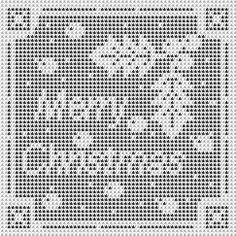 More Filet Crochet Christmas Designs – free patterns – Grandmother& Pattern Book Crochet Thread Patterns, Crochet Angel Pattern, Christmas Crochet Patterns, Holiday Crochet, Doily Patterns, Crochet Home, Crochet Motif, Crochet Doilies, Knit Crochet