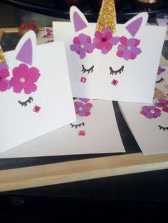 diy unicorn invitations