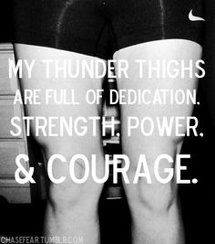 Do you have thunder thighs from all your hours spent in the saddle? You're not alone.