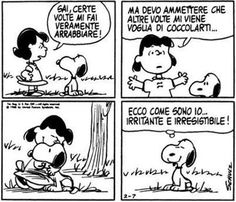 Peanuts, Snoopy and Lucy