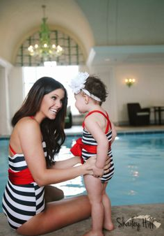 mommy daughter swimsuits