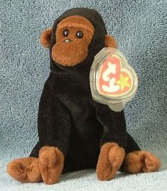 11059c4cee2 TY Beanie Baby Congo the Gorilla 1996 Retired Free Shipping
