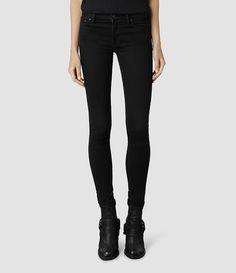 Women's Mast Jeans/Jet Black (Jet Black) -