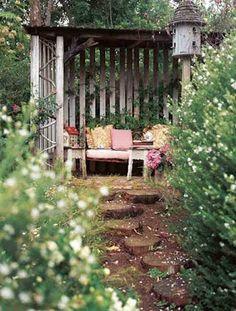 backyard getaway