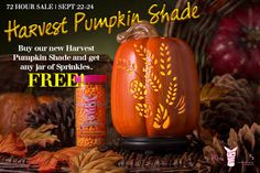 Sprinkle My Candles- Pink Zebra Independent Consultant: 72 Hr SALE! FREE Sprinkles with purchase of Harves...