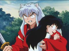 Anime Screencap and Image For Inuyasha Inuyasha Fan Art, Kagome And Inuyasha, Kagome Higurashi, Girl Fights, Seven Deadly Sins Anime, Anime Characters, Cool Girl, Fairy Tales, Drawings