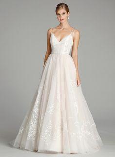 846e80754e4 Alvina Valenta 9661 is an ethereal ball gown! The ballerina-inspired bodice  boasts sheer
