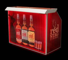 Professional Portable Bar Red Stag